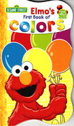 Elmo book colors