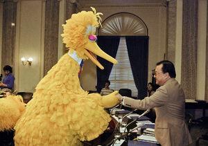 Capitol Hill Sen. Daniel Inouye, D-Hawaii April 12, 1989