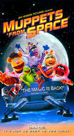 Muppets From Space - Jim Hensons Home Entertainment VHS