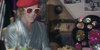 Elton John's Lunch