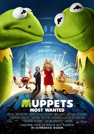 Muppets Most Wanted UK poster