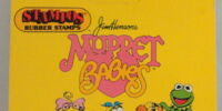 Muppet Babies rubber stamps (Stampos)