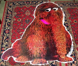 Child guidance floor puzzle snuffleupagus snuffy 2
