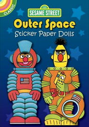 Dover outer space sticker paper dolls