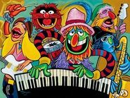 Electric Mayhem Band Tim Rogerson 20 x 27