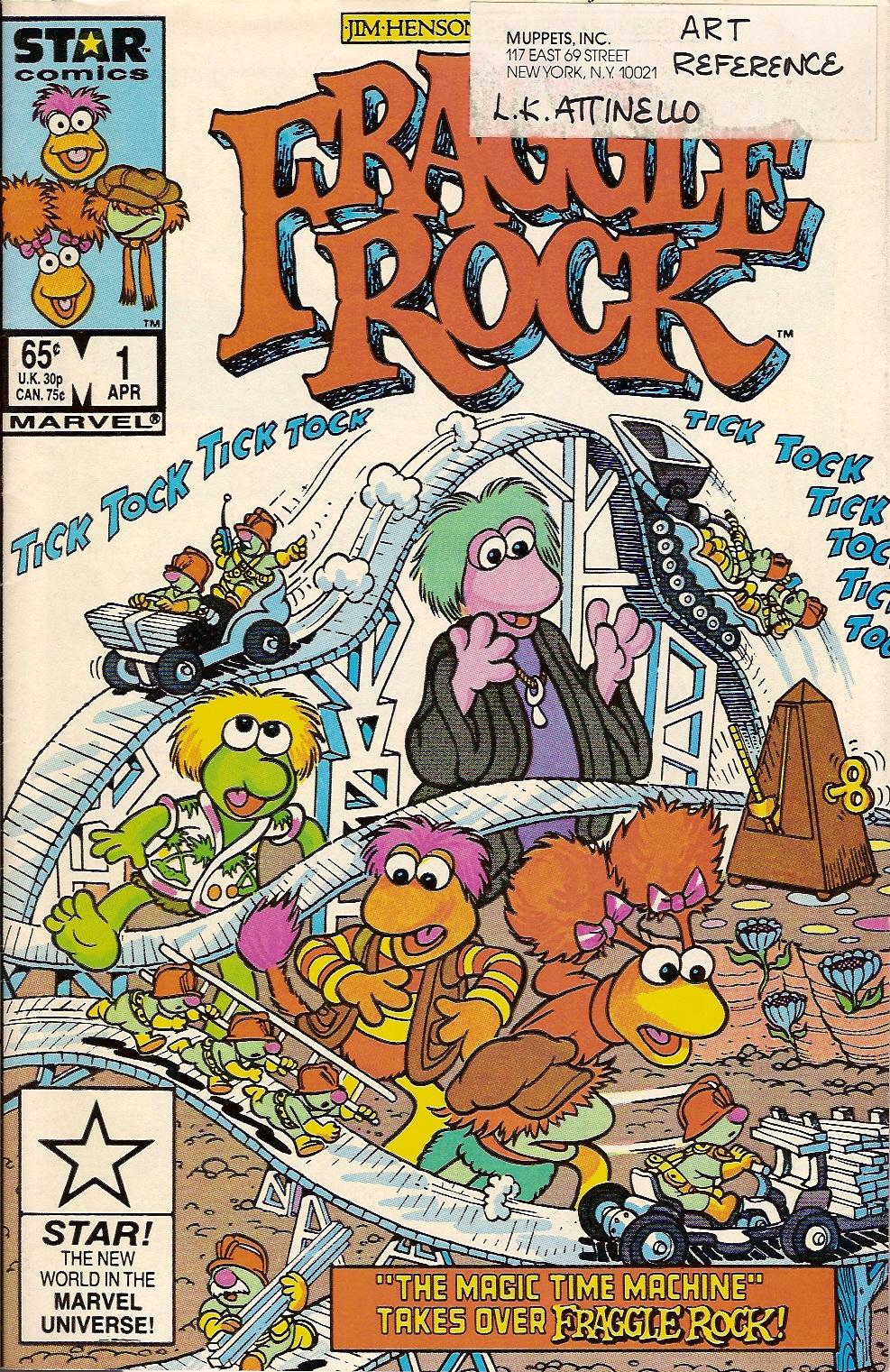 Fraggle Rock (Marvel) | Muppet Wiki | Fandom powered by Wikia