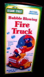 Bubble blowing fire truck 2