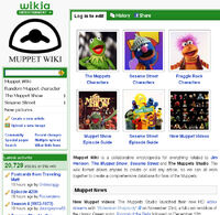 OldVersionoftheMuppetWikiWebsite