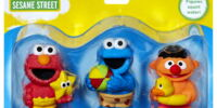 Sesame Street Bath Squirters (Playskool)
