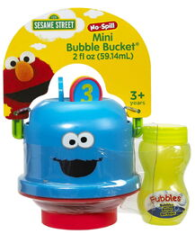 Cookie monster mini bucket 1