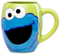Sesame place mug cookie