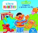 Barrio Sésamo magnetic books