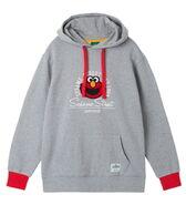 Pancoat hoodie head elmo