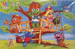 Milton bradley muppet babies puzzle treehouse