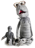 Spitimage kermitspoof puppet