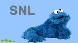 Cookie monster hosts snl