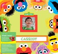 Ek success 2011 sesame frame a name scrapbook