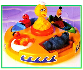Tyco 1993 tub puzzle