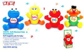 Tyco 1998 soft musical pals