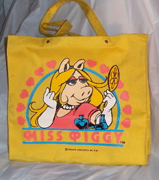 Butterfly originals piggy tote 1981