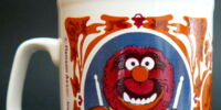 Muppet mugs (Kiln Craft)