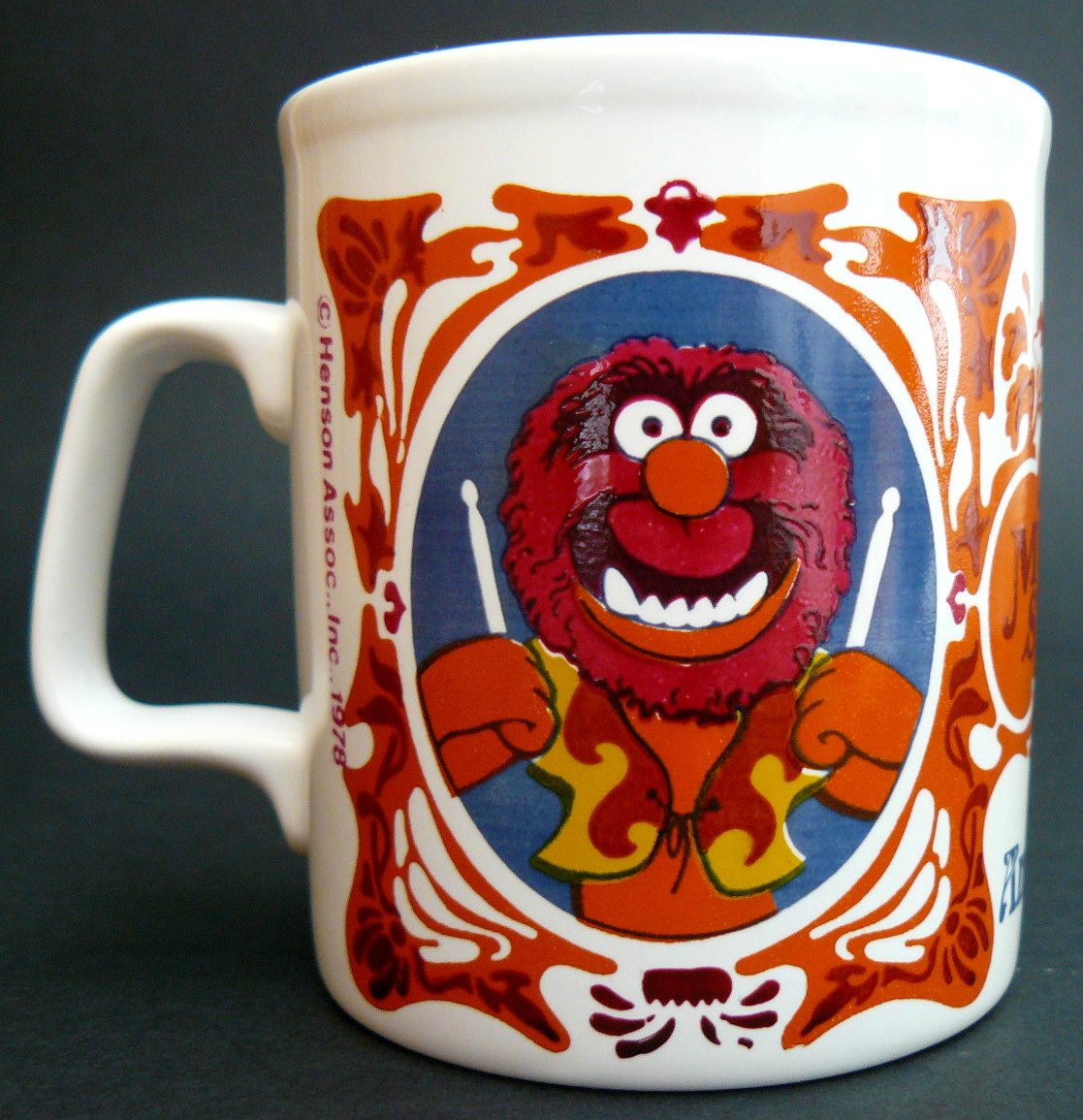 Kiln Craft Muppet Show Mugs