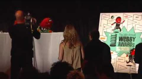 Muppets 5 Word Speech at the 14th Annual Webby Awards