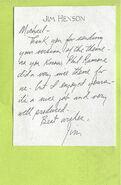 Henson Letter
