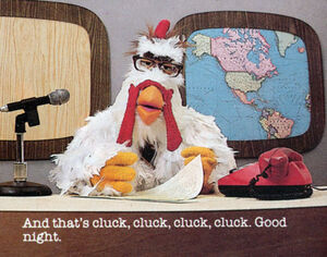 Newsman-chicken