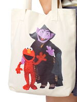 American apparel tote elmo count