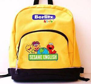 Sesameenglishschoolbag