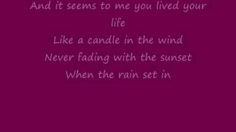Elton John - Candle In The Wind-0