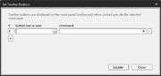 Configure Toolbar Buttons