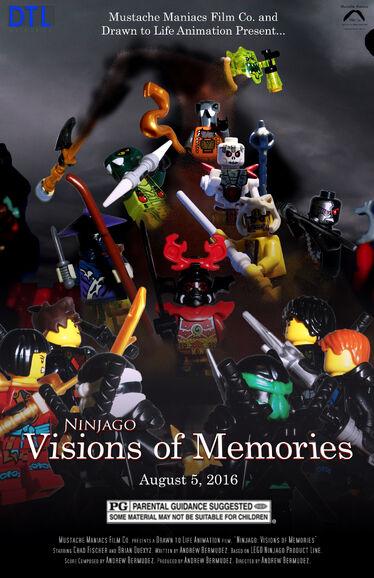 Ninjago Visions of Memories Poster