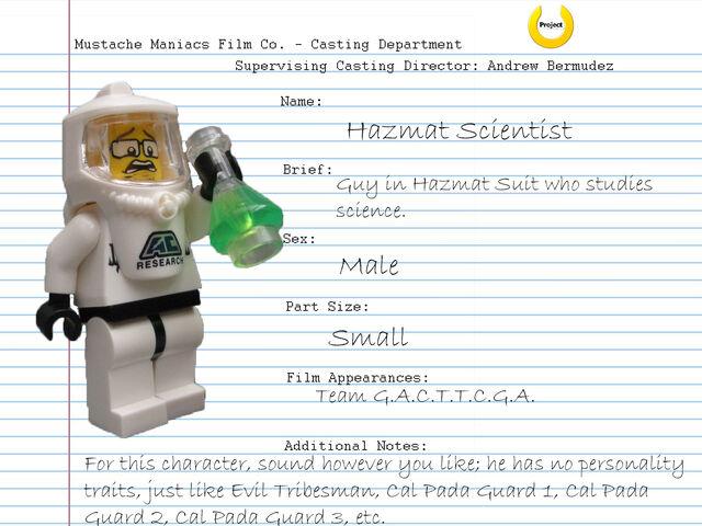File:Audition Sheet - Hazmat Scientist.jpg