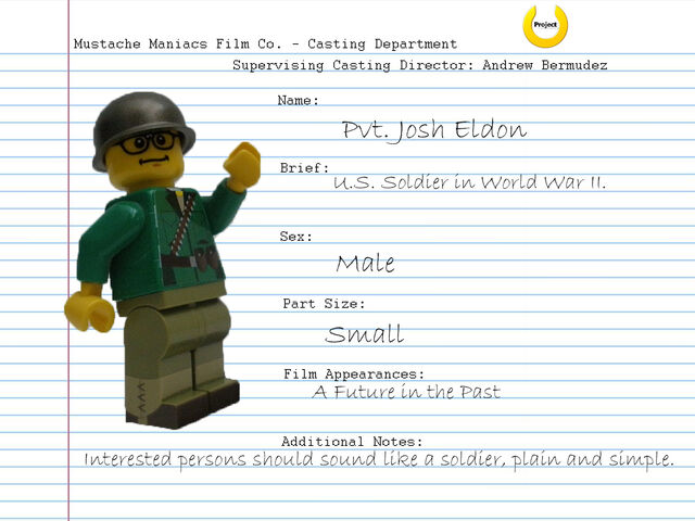 File:Audition Sheet - Pvt. Josh Eldon.jpg
