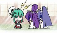 Tsukuyomi scolding meiya & yuuhi