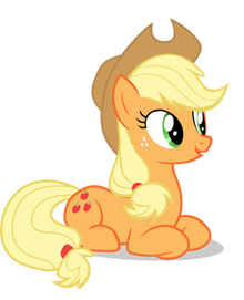 390px-35755 - absurd res applejack sitting vector