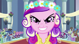 Evil Cadance Walking Down The Aisle