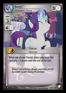 Rarity, Attention Horse