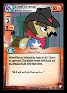 Sheriff Silverstar, Search Warrant