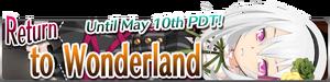 Return to Wonderland banner
