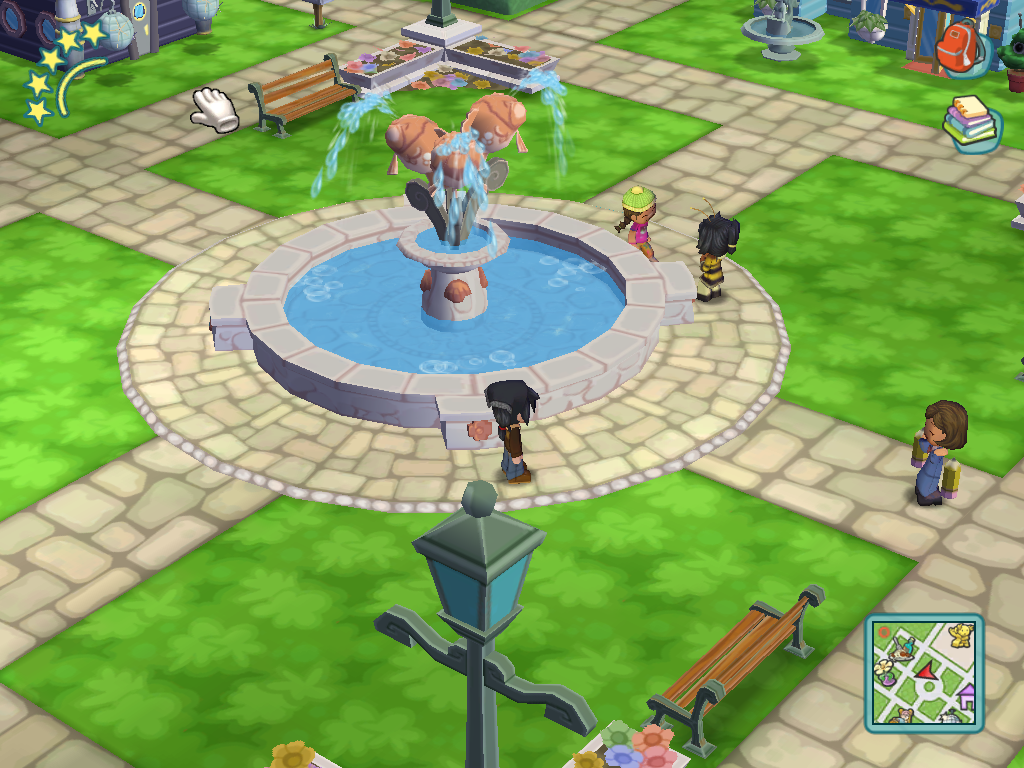 Image - Town Square Fountain.png | MySims Wiki | Fandom ...