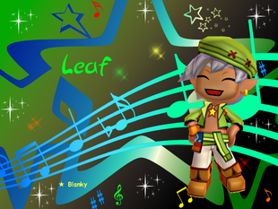 Leaf The Rockstar Wallpaper