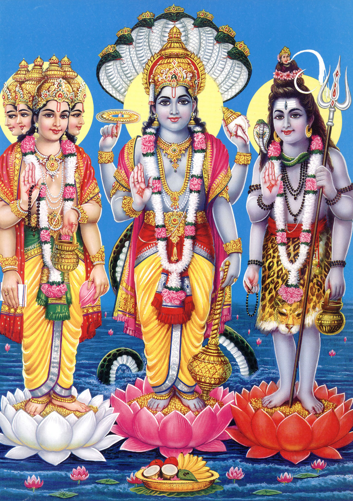 How Were The Trimurti Gods Born – OnlinePrasad.com blog