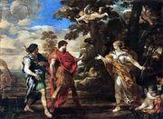 Venus Appears to Aeneas