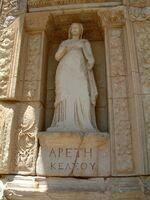 Arete (goddess) statue
