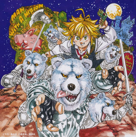 Seven Deadly Sins - CD Cover Anime