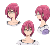Gowther anime character designs 1