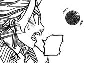 Merlin speaking through her sacred treasure